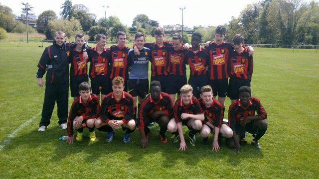 Under 16s league champions 2015